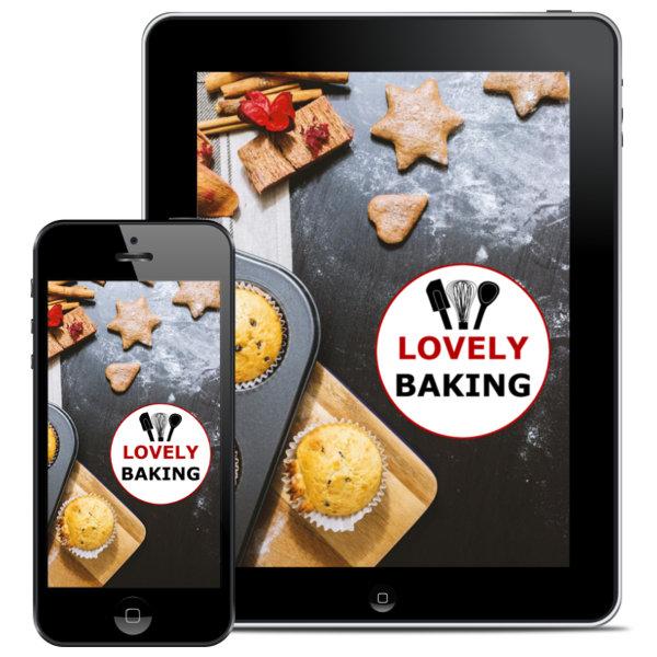 Lovely Baking Backbuch über 40 Rezepte